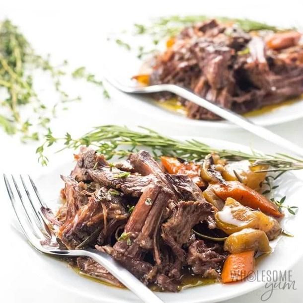 low carb pot roast slow cooker