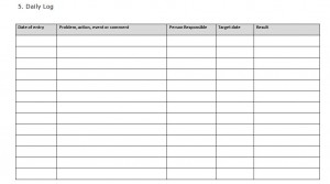 Also, this template is really easy to use. Prince2 Daily Log Template Prince2 Templates