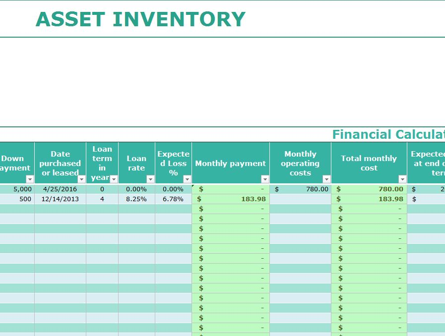 A data center inventory management software package (sdi) can help businesses effectively manage their data centers. Asset Inventory Template My Excel Templates