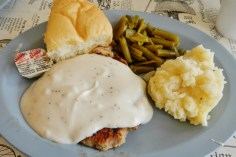 Chicken Fried Steak Lunch Special at Nutshell Eatery & Bakery