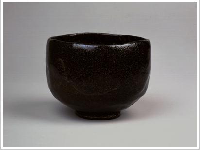 Dônyû III , bol en raku noir, Kinoshita