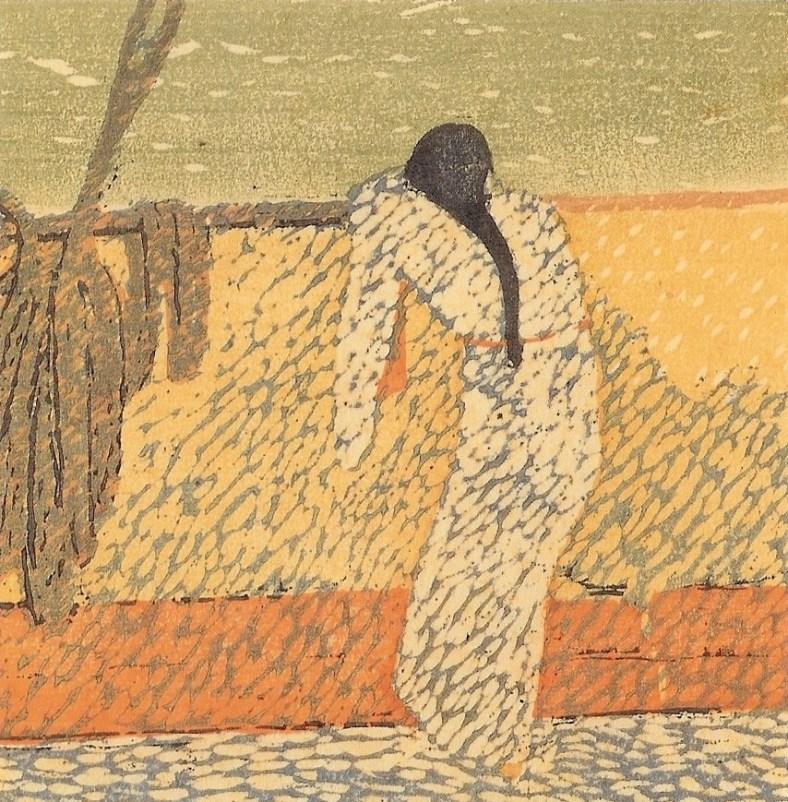 Kanae Yamamoto, Sur le pont,1912