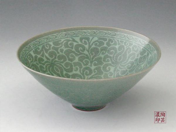 reproduction, bol céladon,trésor national de Corée, XIIème siècle