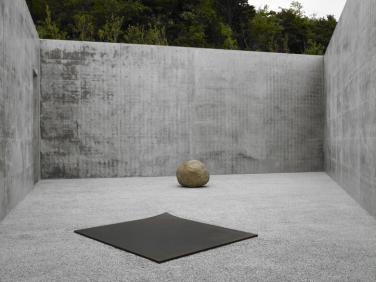 Lee Ufan,Relatum—suggestion, 2005