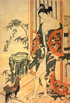 Masanobu, Après le bain