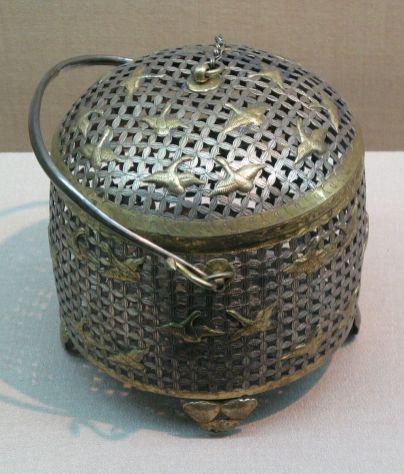 Boîte thé , temple Famen,
