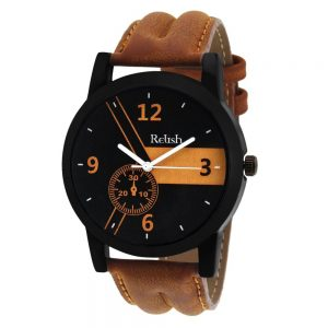 casual-analogue-tan-leather-strap-multicolour-dial-mens-watch