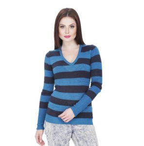 branded-v-neck-womens-multicolor-sweater-in-rs-399