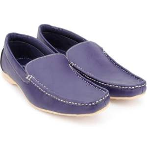 True Soles Blue Loafers in Rs. 299