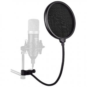 360° Flexible Studio Microphone Pop Filter Shield Mask