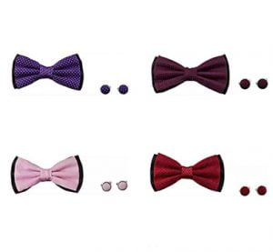 Aeht Branded Bow Tie Set for Men in Rs. 69 only