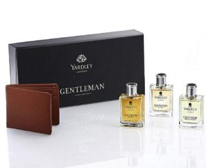 Free Wallet with 3 Yardley Gentleman EDT Classic Perfumes