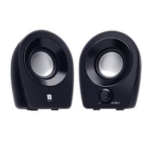 iBall Soundwave 2 2.0 Channel Multimedia Black Speakers