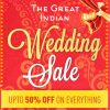 50% Off on All - Pepperfry The Great Indian Wedding Sale