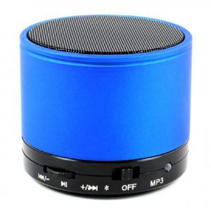 Wireless Rechargeable Bluetooth Speaker with SD Card & FM