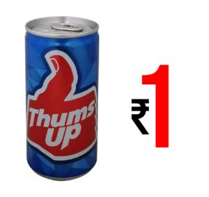 Thums Up 180 ml Cold Drink Can at Special Price