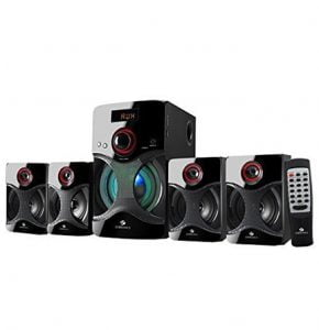 Zebronics 4.1 Channel Multimedia Speakers on Huge Discount