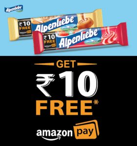 Buy Alpenliebe Pack & Get Rs 10 Amazon Pay Balance FREE
