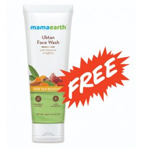 Ubtan Face Wash 25ml Free Sample Hurry!