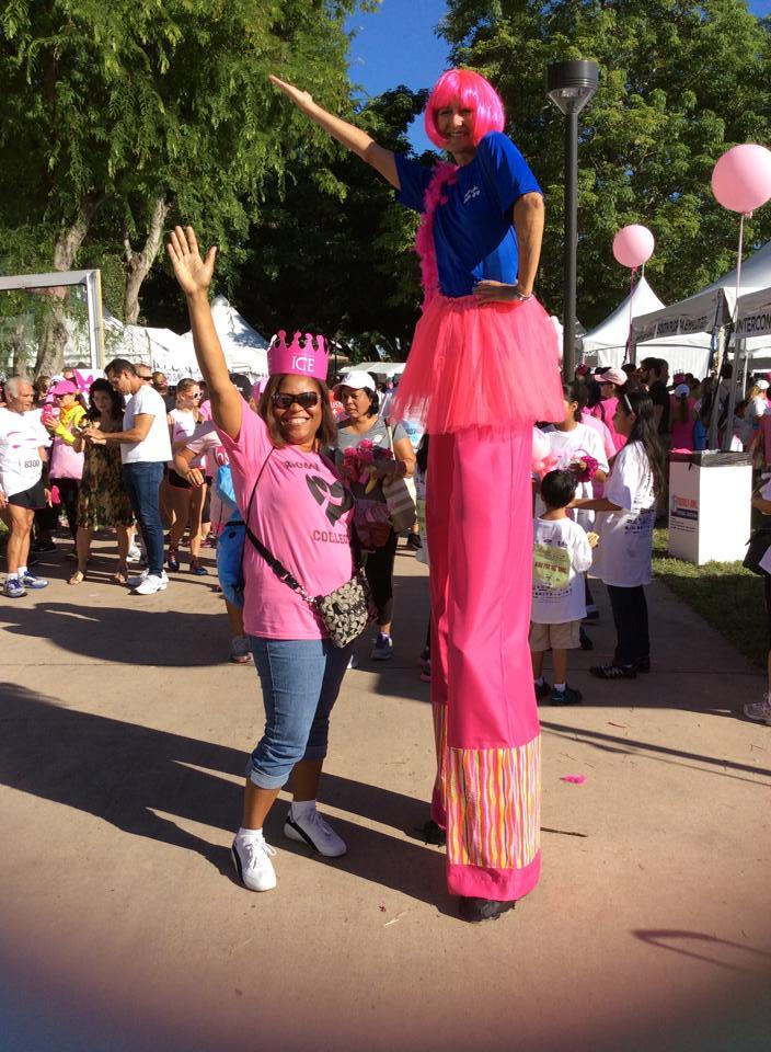 Pink Stilt Walker