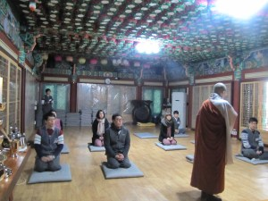 South Korea a weekend with d with the monks