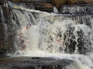 The beautiful Karfiguela Falls