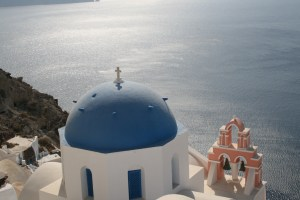 Our Return to Santorini