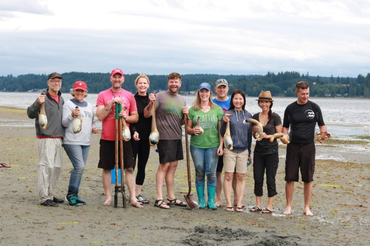 The geoduck team