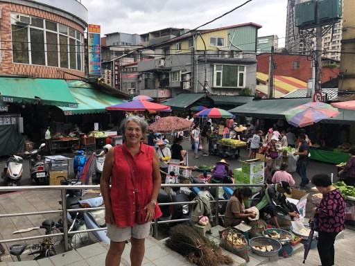 At The morning market Beitou Taipei