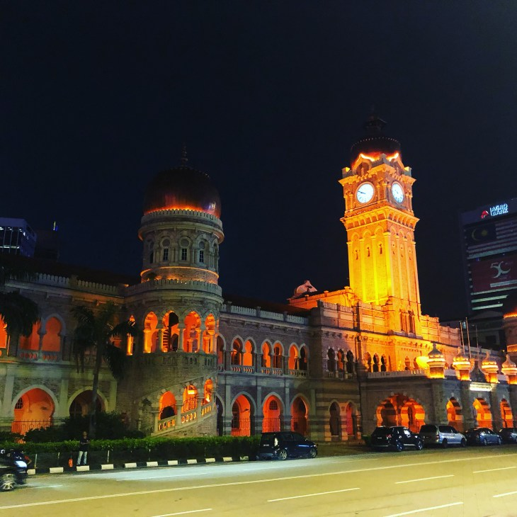 Sultan Abdul Samad Colonial Era Building Kuala Lumpur