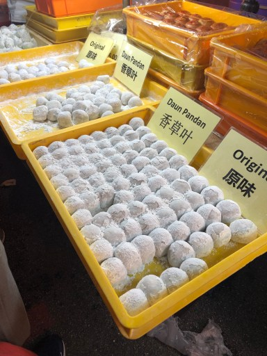 Chinese sweet treat at Kuala Lumpur Food Tour