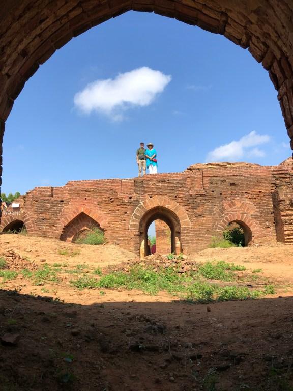 Ruins of Temple, Bagan Myanmar
