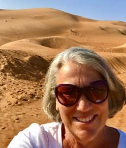 Oman's desert Wahiba Sands