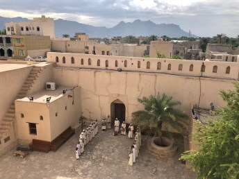 Beautiful Nizwa fort