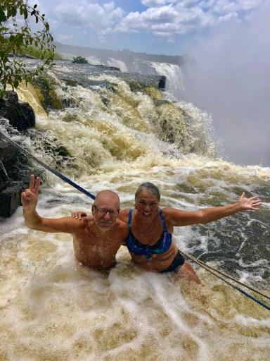 Angles Pool Victoria Falls