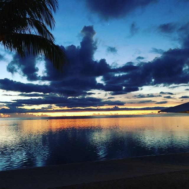 Sunset Flic en Flac Mauritius