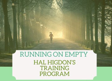 Hal Higdon's training program