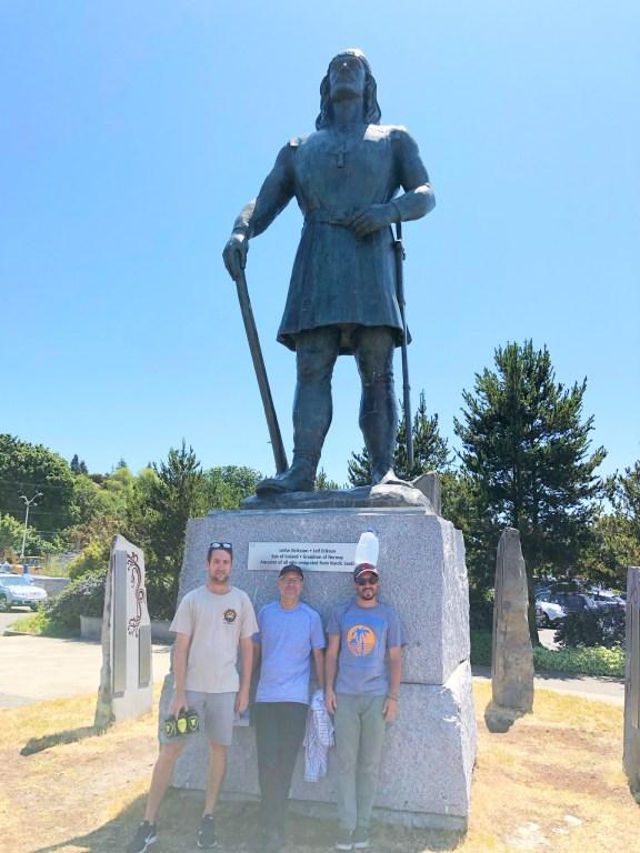Leif Erickson Statue Ballard