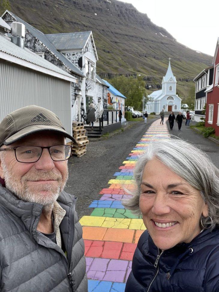 Colorful Seydisfjordur Iceland