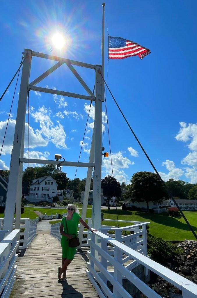 Perkins Cove Foot Bridge