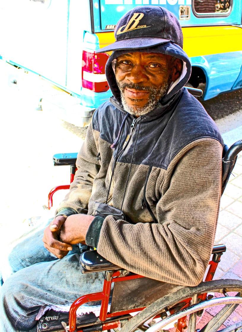 gentleman in wheelchair