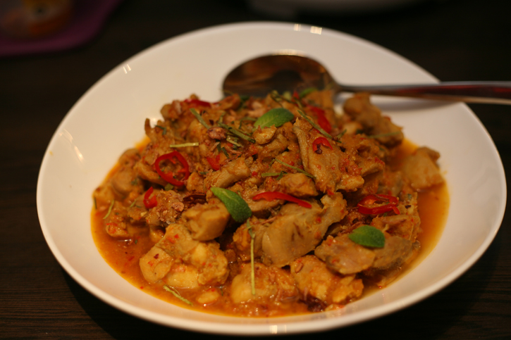 Kari Kapitan (Captain's Chicken Curry) served at Guan's Peranakan Food Supper Club