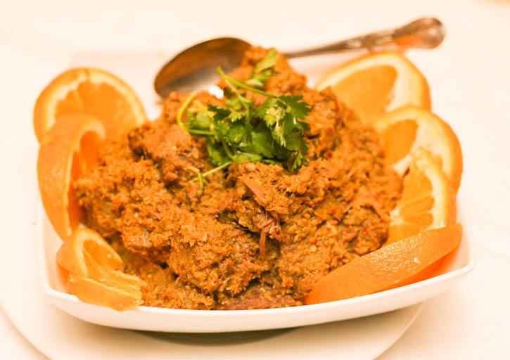 Beef Rendang - Selesa Restaurant