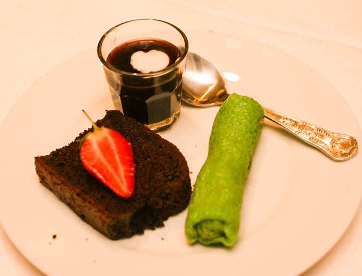Dessert at Selesa Restaurant