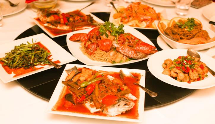 Dinner at Selesa Restaurant