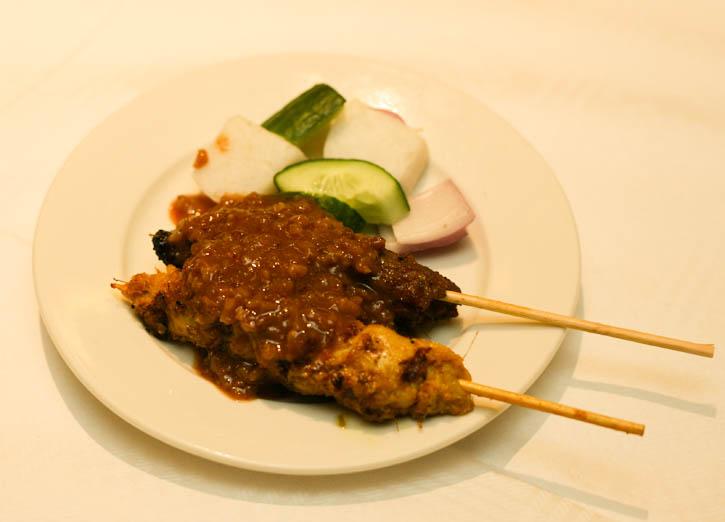Satay in Selesa Restaurant