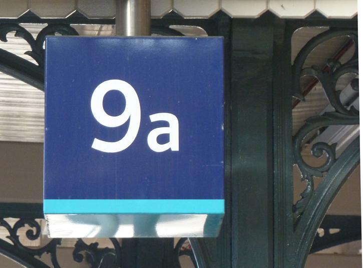Platform 9 at Kings Cross Station