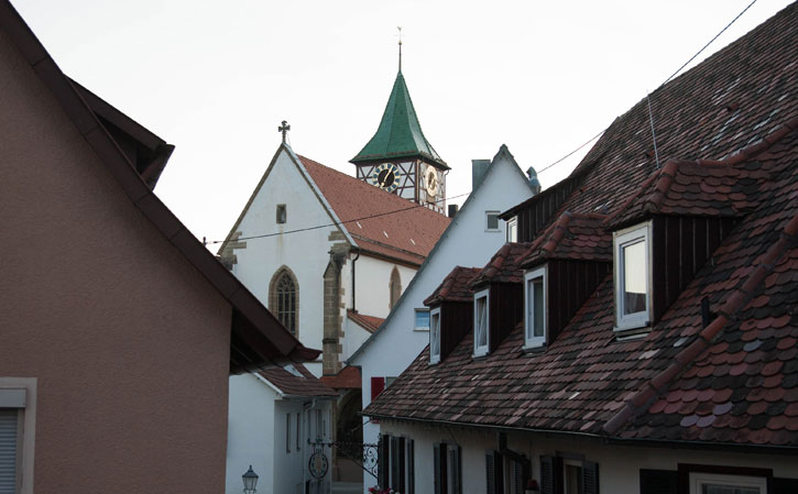 The church tower with the Glockenspiel which reminded us of its proximity every 15 minutes during the day.