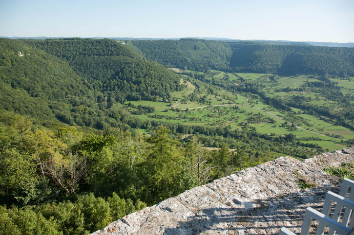 A view of the Countryside from Neuffen Castle
