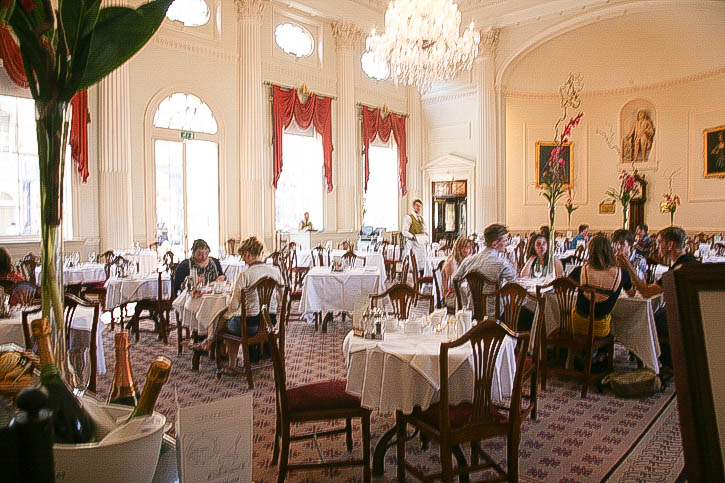 The Restaurant in the Pump Room